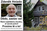 Hledá se děda Zdeněk Hnízdo (89), je už měsíc nezvěstný! Lidé organizují pátrací akce