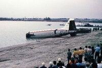 Po havárii letadla u Bratislavy zemřelo 76 lidí. Před 45 lety skončili v jezeře