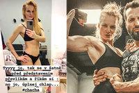 Iva Pazderková šokuje tělem: Tři dny před soutěží jsou svaly a šlachy pryč!