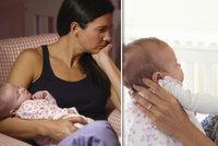 """Sylvii stihla po porodu deprese místo štěstí: """"Těšila jsem se, až si dceru někdo vezme"""""""
