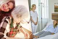 Umírání Blanarovičové v Ulici: Vlastní maminku (84) musela uklidnit! Mami, žiju...