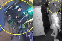 VIDEO: Rozkopal dveře klubu a brutálně útočil na psa! Po grázlovi z Vinohrad pátrají policisté