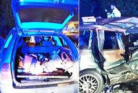 Tragédie na Liberecku: Řidič vjel do protisměru, zemřela mladičká spolujezdkyně