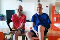Příběh kamarádů s rakovinou Čechy dojal: Péťovi se pak splnilo velké přání