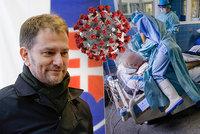 """""""Kopírujeme Česko,"""" varoval Matovič. Slovensko přitvrdilo v opatřeních, roušky jsou i venku"""