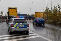 Opilý řidič se na dálnici D5 řítil v protisměru: Nadýchal přes 4 promile!