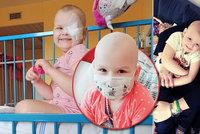 Malá Nanný (5) přišla kvůli rakovině o oko: Statečná bojovnice pořád nemá vyhráno