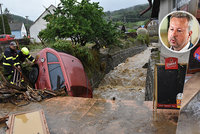 Povodně potrápily Česko. Budou stále častější, lepšího klima se nedožiji, říká ministr Brabec
