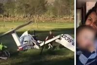 Tragický pád letadla přežil jen malý chlapeček: Našli ho v maminčině náručí