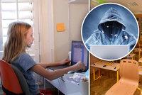 Sprosté výkřiky při online výuce a vtípky puberťáků. Učitelé si zoufají po zavření škol