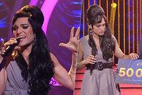 Výchutná lodyha a křupavý salátek! Jordan Haj zvítězil v Tváři jako Amy Winehouse