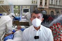 Koronavirus ONLINE: 3519 hospitalizovaných v ČR. A Zeman i Babiš odsoudili divoký protest