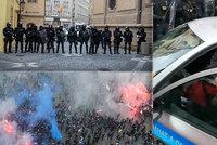 Provokatéři a zatarasené ulice? Rozhodně ne! Policie se ohradila proti spekulacím chuligánů po demonstraci