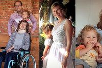 Anežka (31) nemůže ani pohladit syna. Pojišťovna už posedmé zamítla léky na roztroušenou sklerózu