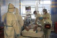 Volná lůžka: Kolik lidí muselo být s covidem-19 hospitalizováno a jaká je kapacita nemocnic?