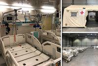 Konečný účet za nevyužitou polní nemocnici v Letňanech: Skoro 100 milionů! Její vybavení poslouží jinde