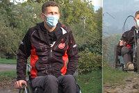 Handicapovanému Petrovi (22) zloděj ukradl speciální kolo: Na nové mu přispěli lidi ve sbírce