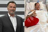 Arnold Schwarzenegger zdraví z nemocničního lůžka: Podstoupil operaci srdce!