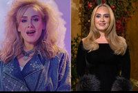Extrémně štíhlá Adele zářila v komediální show! A trefně komentovala svoji proměnu