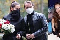 Pohřeb herečky Daniely Krhutové (†47): Příliš mnoho hostů! Museli smutnit venku!