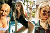 25 nejvíce sexy fotek Boratovy dcery: Podívejte se, jaká je Maria Bakalova kočička
