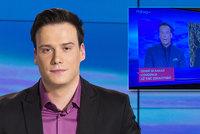 Zkrat moderátora Suchoně v Televizních novinách: Nezvládl jsem to! Nova: Vyvodíme důsledky!
