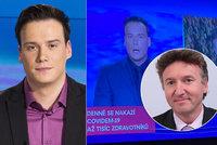 Dohra přešlapu Petra Suchoně v Televizních novinách: Stahují ho z obrazovky! Na měsíc!