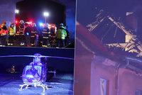 Mohutný výbuch domu u Prahy! Záchranáři hlásí několik zraněných