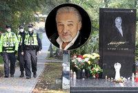 Příliš slavný, aby našel klid! Policie opět v akci kvůli hrobu Gotta (†80)