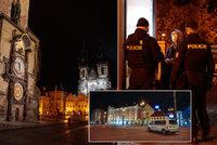 FOTO: Lidupustá Praha kvůli zákazu vycházení. Takhle klidnou službu policisté dlouho nezažili