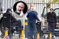 Zlomený zpěvák Phil Collins (69): Na vozík mu museli pomáhat přátelé!