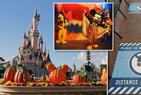 Čech v covidové Paříži: Prázdné ulice, žádní turisté a zakázané objímání myšáka Mickeyho