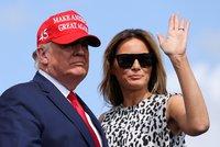 Exporadkyně: Melania počítá minuty do rozvodu. Čeká, až Trump opustí Bílý dům