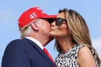 """Trumpův černý rok: Přijde o Bílý dům i ženu? """"Melania se rozvede ještě před příchodem léta"""""""