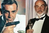 Zemřel Sean Connery (†90), první filmový James Bond: Miloval Prahu a zahrál si s Werichem