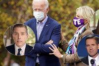 Bidenova rodinná pouta: Starší syn zemřel, mladší dělá problémy, manželka Jill oporou