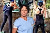 """""""Vlčice"""" z Modrého kódu Frejová ukázala perfektní tělo: Záda samý sval!"""