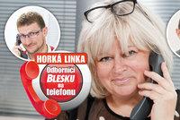 Odborníci na Horké lince Blesku už v úterý! Pomohou s ošetřovným, důchody, nemocenskou i mateřskou!