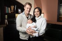33 hodin pekla! Verner s manželkou popsali dramatický porod