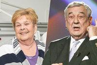 Ivanka Devátá se synem po ochrnutí a infarktu: Oslava života vzpomínkou na Vinkláře (†76)!
