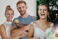 Napoprvé jiskra ve Svatbě nepřeskočila! Nové fotky Petry a Reného však překvapí