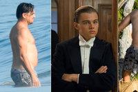 Šokující proměna Leonarda DiCapria: Hvězda Titanicu vyvalila pupek i půlky!