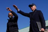 Biden těsně vyhrál v Arizoně a popřála mu už i Čína. Obama zuří kvůli slovům o podvodech