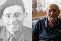Zemřel válečný hrdina Bernard Papánek (†101): Bojoval v bitvách u Tobruku i Dunkerku