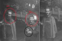 Poznáte sprejery? Dvojice vandalů znehodnotila fasádu domu na Vinohradech