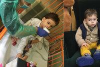 Milánek (2) se SMA dostal nejdražší lék: Stal se čtvrtým dítětem v Česku, kterému byl aplikován lék Zolgensma
