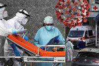 Fronty na ventilátory a mrtví v koupelnách. Nemocnice na jihu Itálie nezvládají nápor