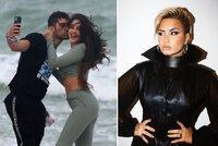 Exsnoubenec Demi Lovato dlouho nesmutnil! Na pláži už vrká s novou kráskou