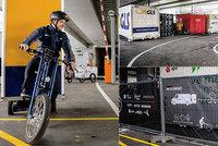 Praha chválí cyklodepo na Těšnově a chystá další u Anděla. Pomáhají snižovat emise ze silnic