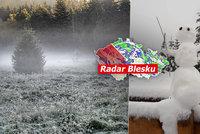 Do Česka nakoukne skutečná zima, teploty spadnou až k -10 °C. Přidá se i sníh, sledujte radar Blesku